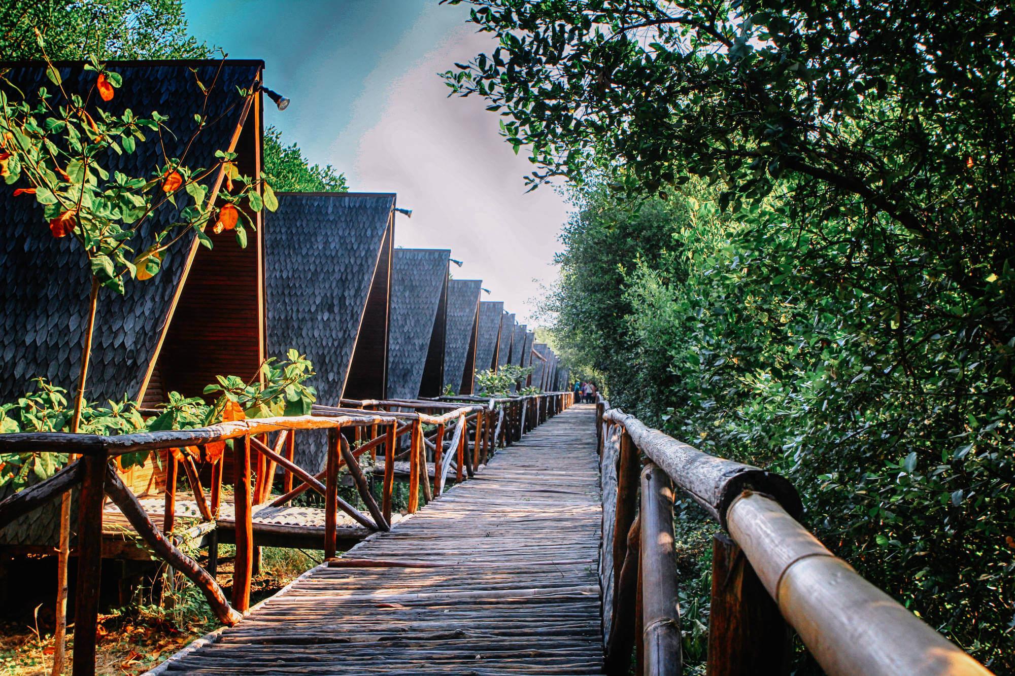 Taman Wisata Alam Mangrove, Angke Kapuk